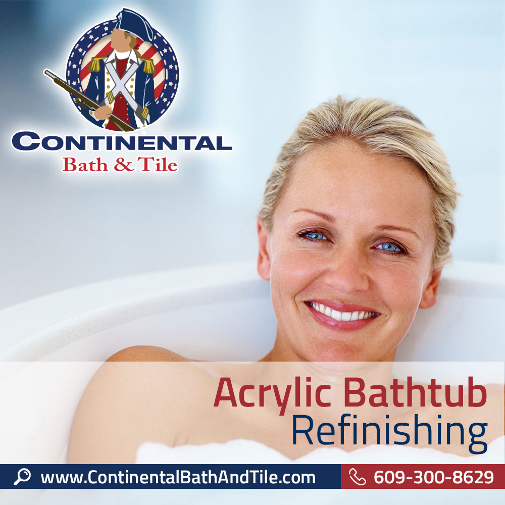 Acrylic Bathtub Refinishing Marlton NJ