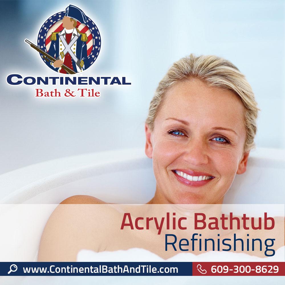 Continental Bath & Tile, LLC - Acrylic Bathtub Refinishing