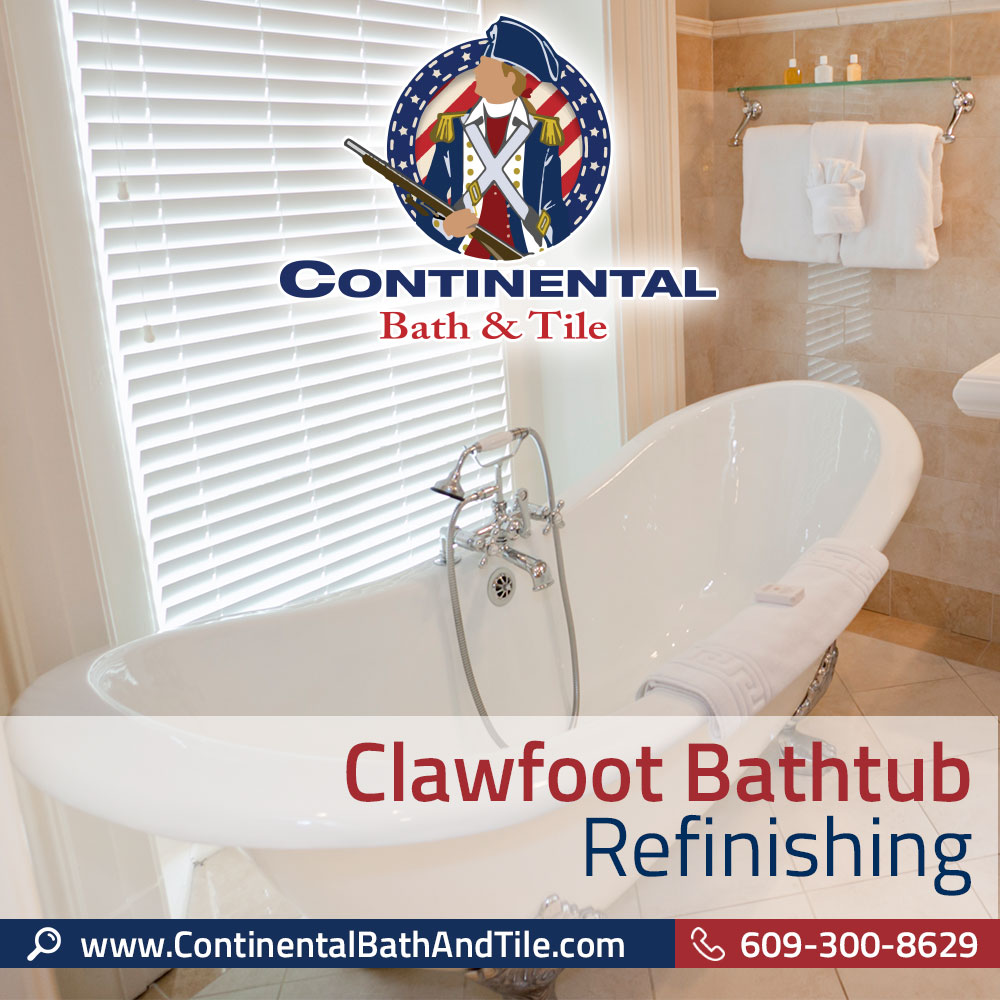 Clawfoot Bathtub Refinishing Marlton NJ