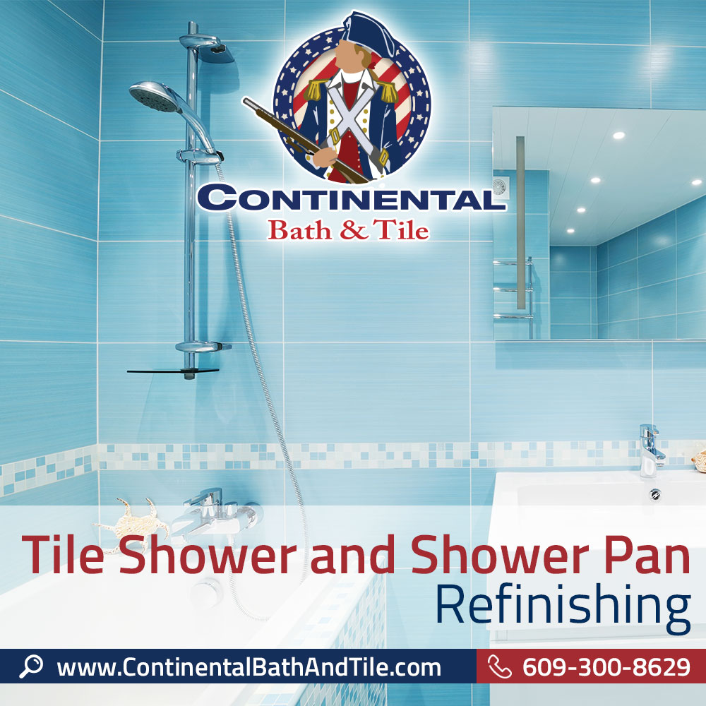 Tile Shower and Shower Pan Refinishing Marlton NJ