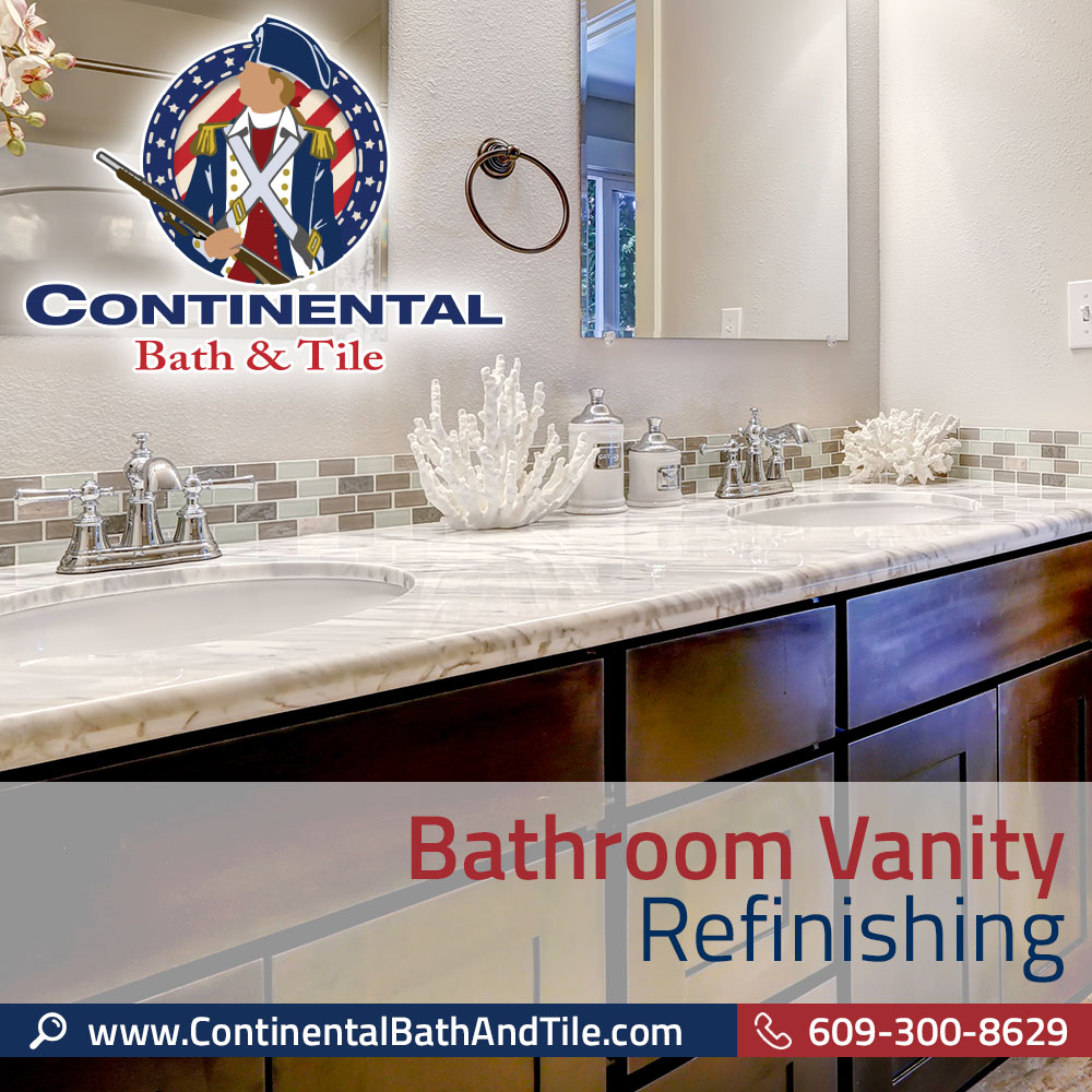 Refinishing Bathroom Vanity continental bath & tile, llc - bathroom vanity refinishing